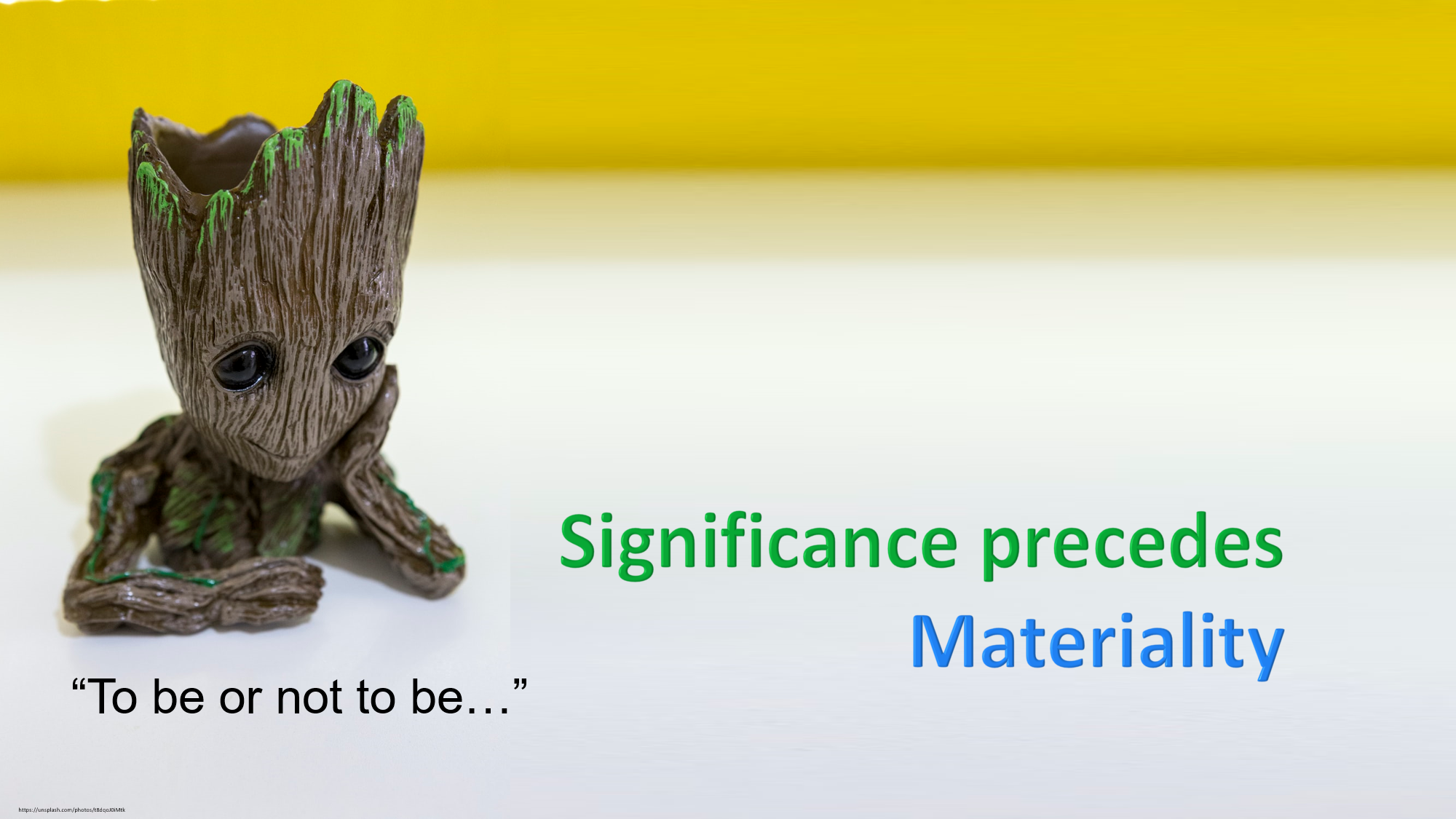 Materiality and Significance